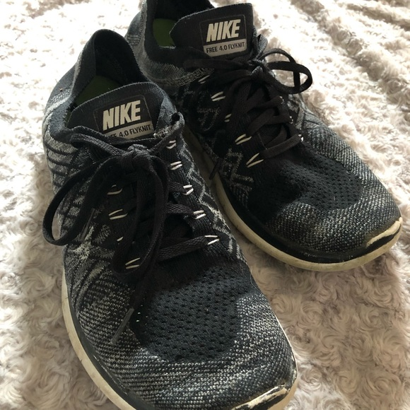 classic fit 223fd 9fbb2 Nike Free Run 4.0 Flyknit Running Athletic Shoes